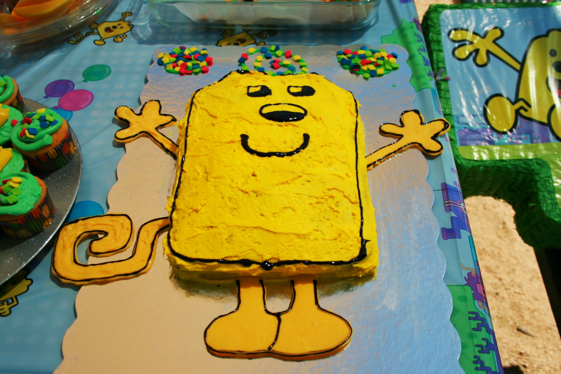 Wow Wow Wubbzy Cake Family Review Guide