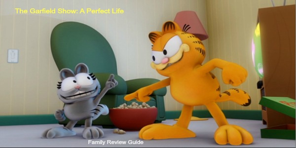 Review Giveaway Dvd The Garfield Show Quot A Purr Fect