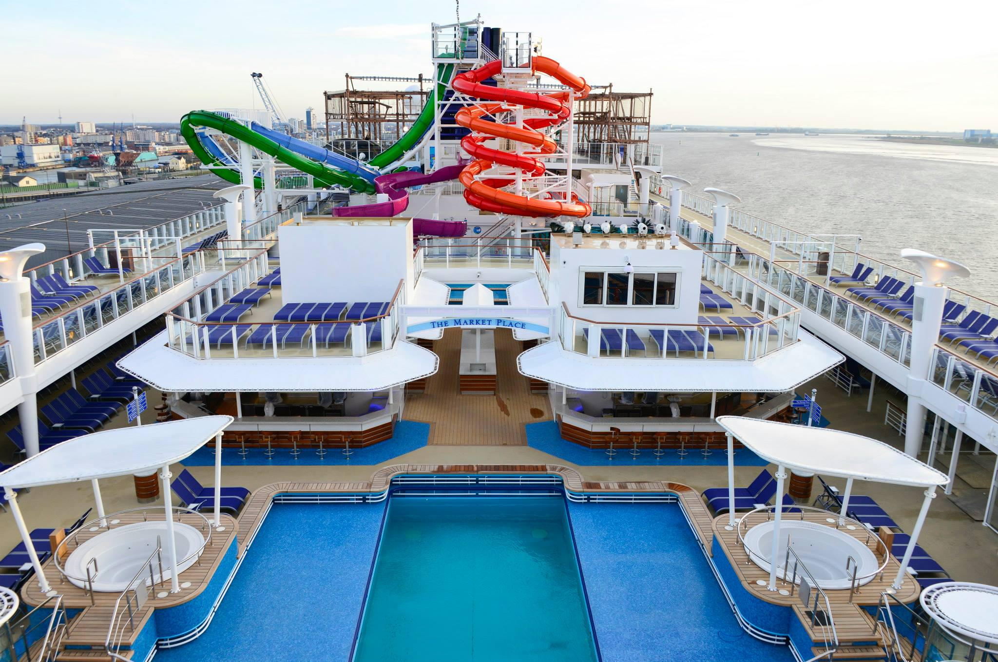 Catch The Upgrade Wave On Board Miamis Ultimate Ship Norwegian - Nickelodeon cruise ships