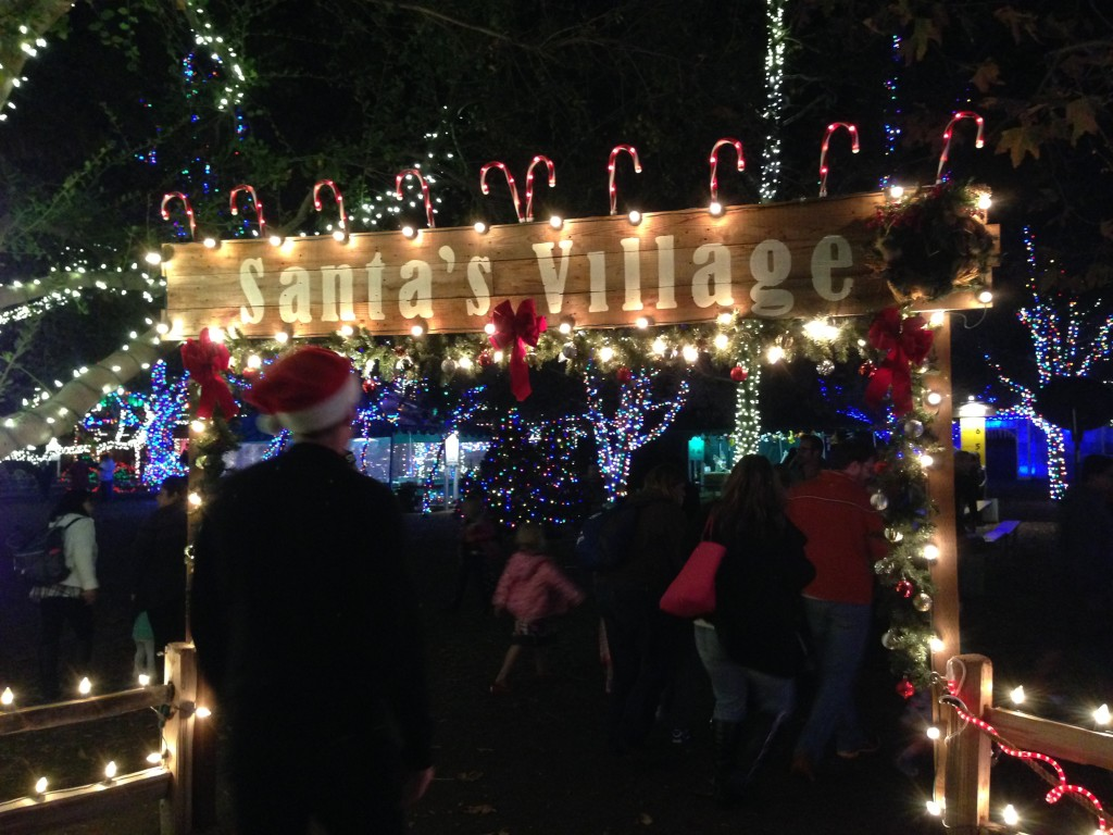 Irvine Park Christmas Train is a Magical Time - Family Review Guide