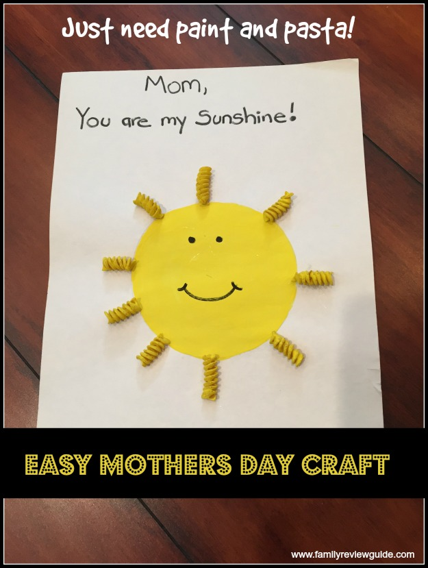 7 Easy Mother's Day Crafts - Family Review Guide