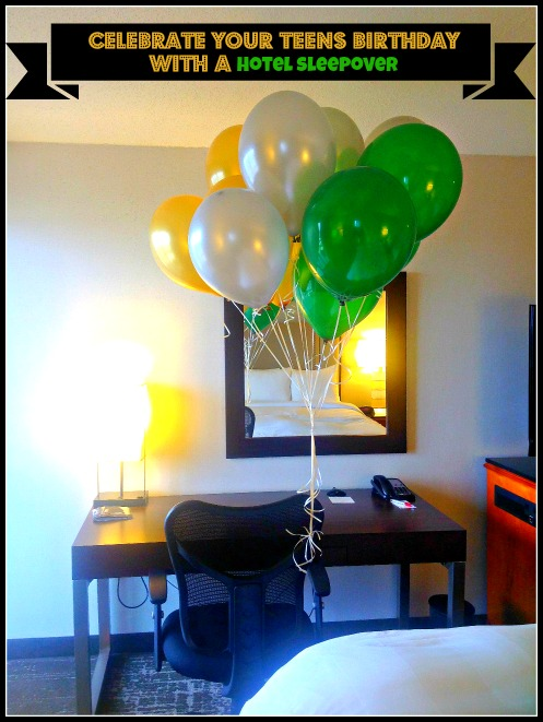 Celebrate Your Teen S Birthday With A Hotel Sleepover Family Review Guide