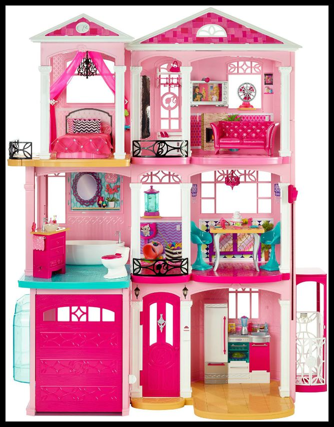 A Girls Dream Come True The Barbie House Family