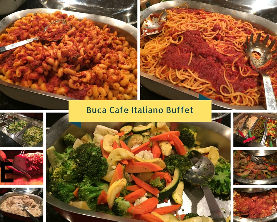 Buca Cafe Italiano - Italian food with a twist - Family Review Guide