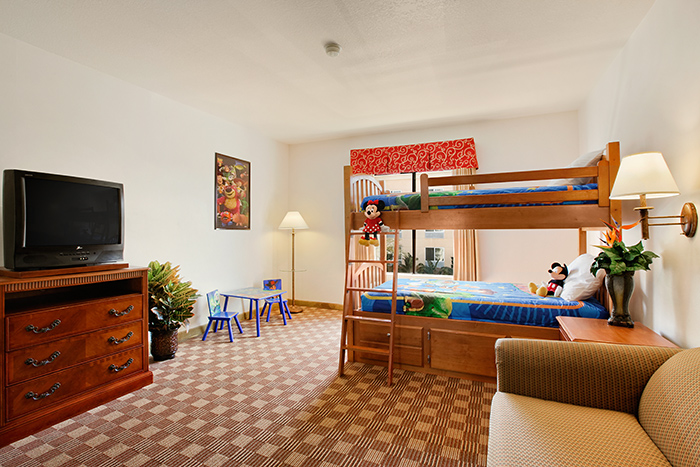 Rooms: 18 Family Friendly Hotels With Bunks Beds Near Disneyland