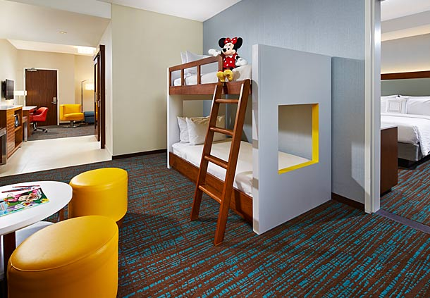 Disneyland Area Hotels With Bunk Beds