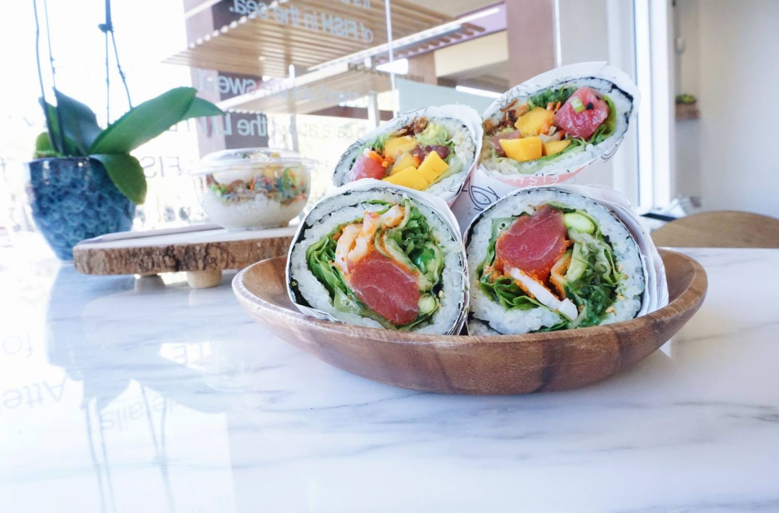 50 places to find fresh poke in orange county family for Big fish little fish poke
