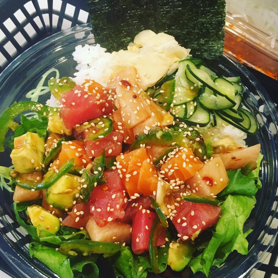 50 places to find fresh poke in orange county family for Fish me poke menu