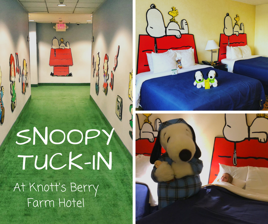 Snoopy Tuck In At Knott S Berry Farm Hotel Family Review